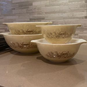 Forest Fancies Cinderella bowls